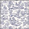1FR101 Champagne Toile blue